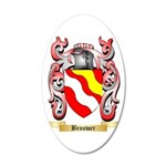 Brouwer 35x21 Oval Wall Decal
