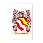 Brouwer 35x21 Wall Decal