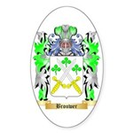 Brouwer 2 Sticker (Oval)