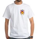Broun White T-Shirt