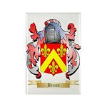 Broun Rectangle Magnet (10 pack)