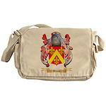 Broun Messenger Bag