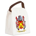 Broun Canvas Lunch Bag