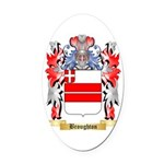 Broughton Oval Car Magnet