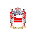 Broughton Sticker (Rectangle 10 pk)