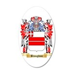 Broughton 20x12 Oval Wall Decal