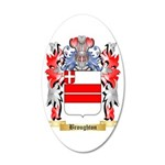 Broughton 35x21 Oval Wall Decal