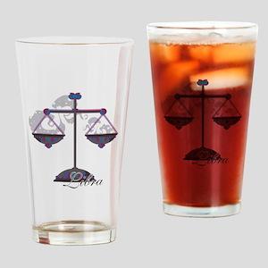 Starlight Libra Drinking Glass