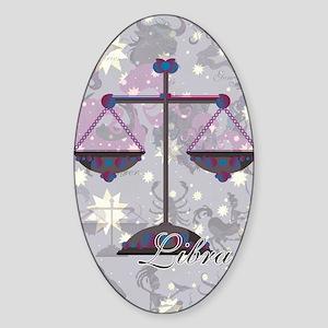 Starlight Libra Sticker (Oval)