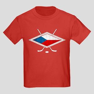 Czech Ice Hockey Flag T-Shirt