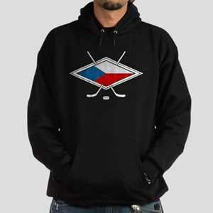 Czech Ice Hockey Flag Hoodie