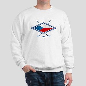 Czech Ice Hockey Flag Sweatshirt