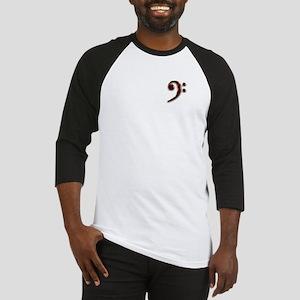 Bass Clef Logo Baseball Jersey