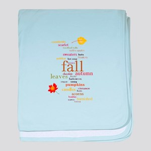Fall Dreams baby blanket