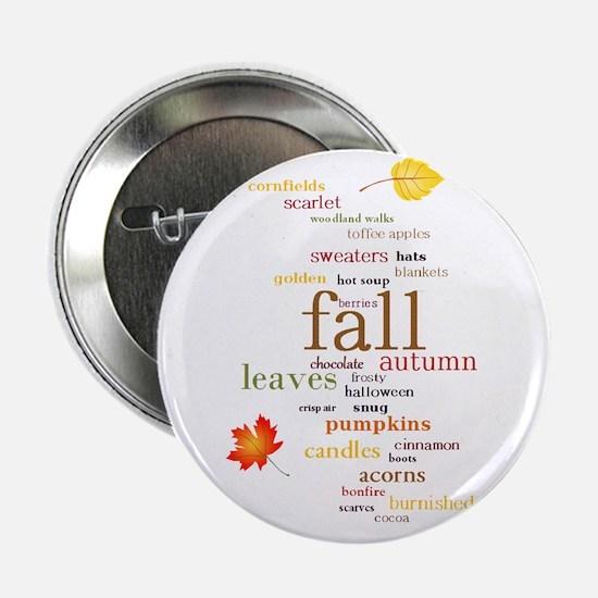 "Fall Dreams 2.25"" Button"