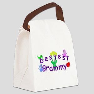 Bestest Grammy Canvas Lunch Bag