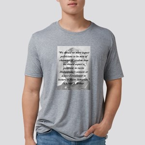 Arthur - Politicians Mens Tri-blend T-Shirt