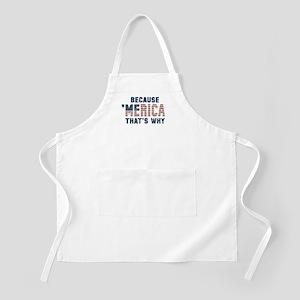 Because 'Merica Vintage Apron