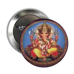 Ganesha Buttons (10 pack)