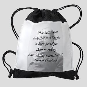 Cleveland - High Principle Drawstring Bag