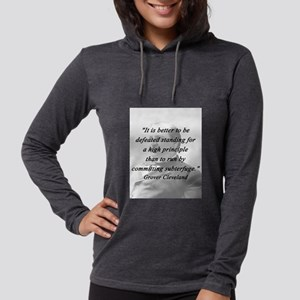 Cleveland - High Principle Womens Hooded Shirt