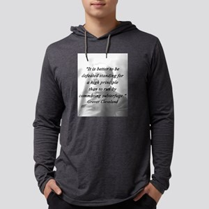 Cleveland - High Principle Mens Hooded Shirt