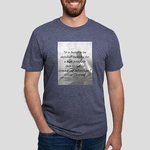 Cleveland - High Principle Mens Tri-blend T-Shirt