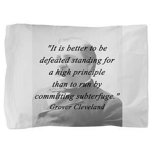 Cleveland - High Principle Pillow Sham