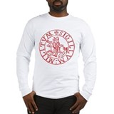 Templar knights Long Sleeve T-shirts