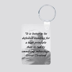 Cleveland - High Principle Aluminum Photo Keychain