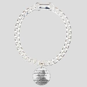 Cleveland - High Principle Charm Bracelet, One Cha