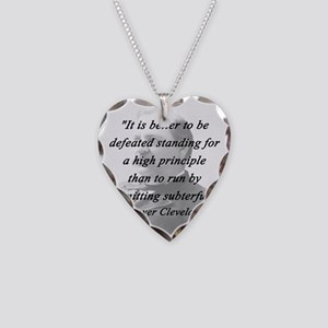 Cleveland - High Principle Necklace Heart Charm