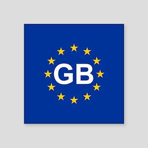 EU UK Sticker