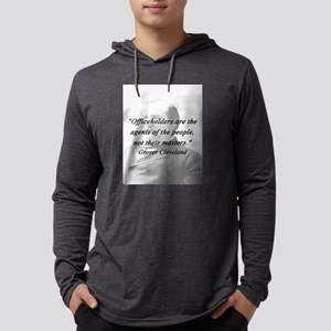 Cleveland - Officeholders Mens Hooded Shirt