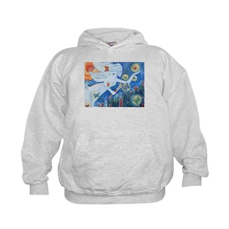 """The Angel of Hope"" by Studio OTB Kids Hoodie"