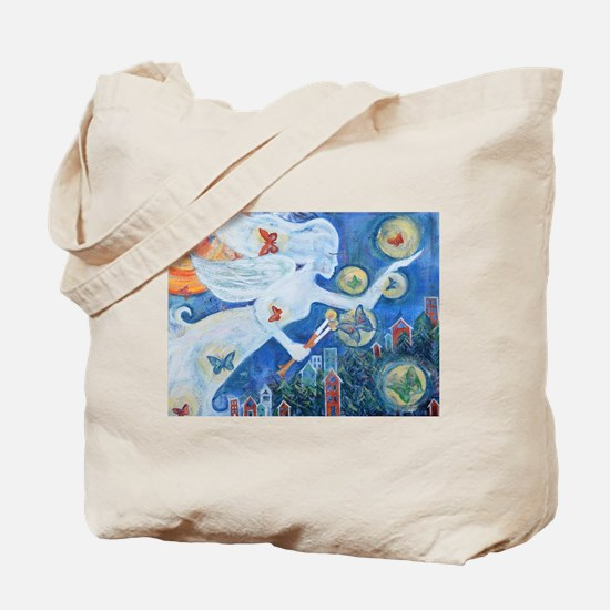 """The Angel of Hope"" by Studio OTB Tote Bag"