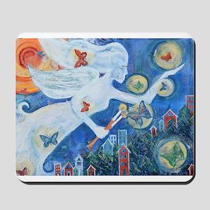 """The Angel of Hope"" by Studio OTB Mousepad"