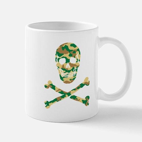 Skull Camouflage Mug