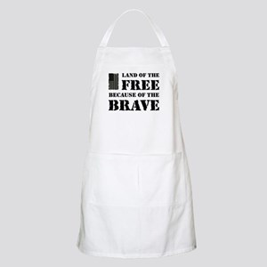 Land of the Free Camo Apron