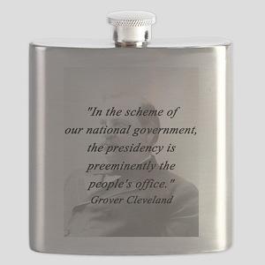 Cleveland - Presidency Flask