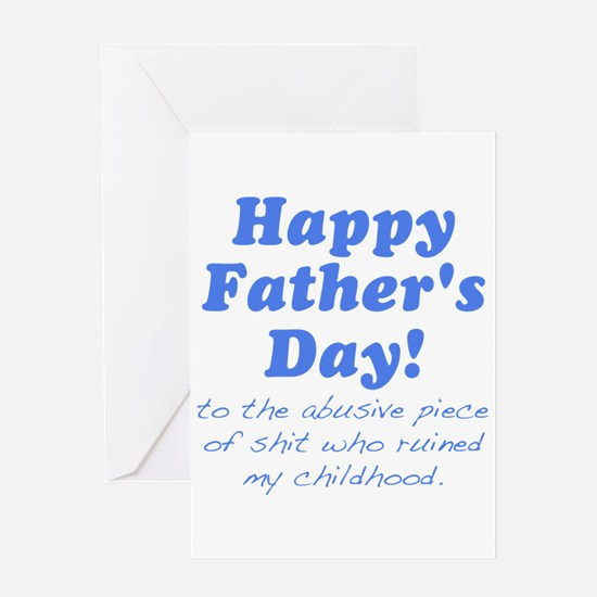 Happy Fathers Day... Greeting Card