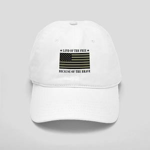 Land of the Free Camo Flag Cap