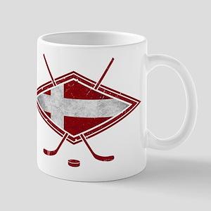 Danish Ishockey Hockey Flag Mug