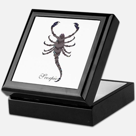 Starlight Scorpio Keepsake Box