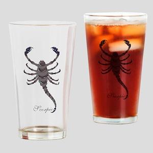 Starlight Scorpio Drinking Glass
