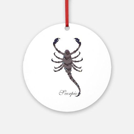 Starlight Scorpio Ornament (Round)