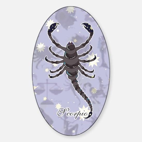 Starlight Scorpio Sticker (Oval)