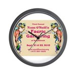 2012 Faerie Gathering Wall Clock