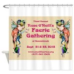 2012 Faerie Gathering Shower Curtain