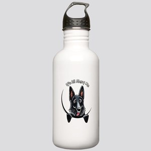 Black GSD IAAM Stainless Water Bottle 1.0L